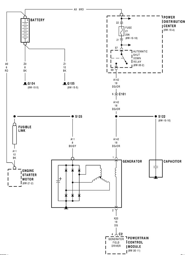 Fusiblelinkschematic no crank no start ecu?? www neons org Clutch Assembly Diagram at suagrazia.org