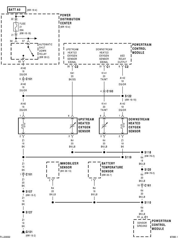 O2 Sensor Wiring Diagram Neons Org
