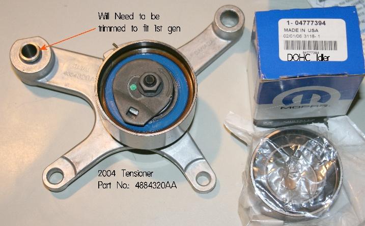 04 Tensioner Other Timing Belt Upgrades Neonsorg